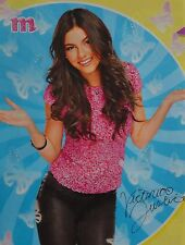 VICTORIA JUSTICE - A4 Poster (20 x 27 cm) - Fan Sammlung Clippings Ausland USA