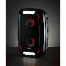 DAEWOO RECHARGEABLE BLUETOOTH PARTY SPEAKER WITH COLOUR CHANGING LIGHTS