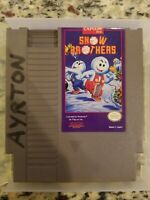 Snow Brothers (Nintendo Entertainment System, 1991) Snow Bros NES Cartridge Only