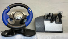 Intec Racing Steering Wheel and Pedals for Xbox GameCube PS1 PS2 Wii G5285