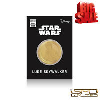 NEW Rare Star Wars Limited Edition Luke Skywalker Stunning Collectable Coin