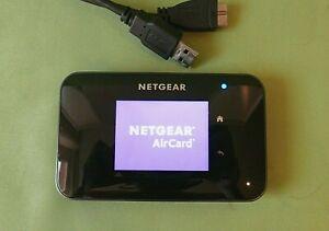 NETGEAR Aircard 810S (UNLOCKED) Wi-Fi Mobile TOUCHSCREEN -4G- (Black)
