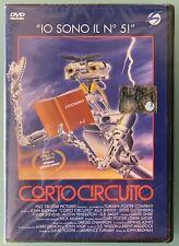 DVD CORTO CIRCUITO - raro fuori catalogo