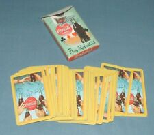 """COCA-COLA PLAYING CARDS """"PLAY REFRESHED"""" ORIGINAL BOX 1958"""