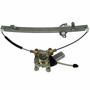 Fits 05-12 Nis Pathfinder Rear Door Left Window Regulator w/ Motor 2 Pin Plug