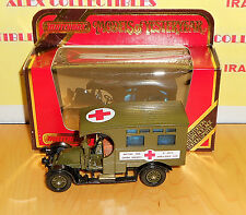"""Matchbox Models of Yesteryears Y25-1.E1 1910 RENAULT TYPE AG AN """"AMBULANCE"""""""