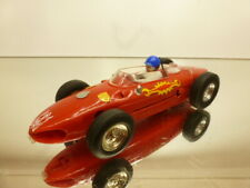 SCALEXTRIC SLOT CAR FERRARI 156 SHARKNOSE - RED L12.0cm - GOOD CONDITION