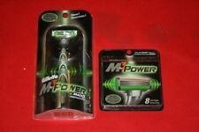 9 Gillette Mach 3 M3 Power Rasierklingen Patrone refill Rasierer Authentic NEU USA