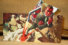 "James Bond 007 Sean Connery ""Thunderball Poster Tabletop Display Standee 10 1/4"""