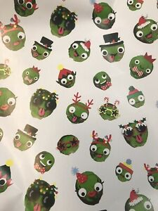 4m 8m 12m 16m SPROUT WRAPPING PAPER BIRTHDAY CHRISTMAS PRESENTS KIDS NEW FUNNY