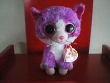 Ty Beanie Boos Charlotte the cat 6 inch NWMT. Claire's Exclusive. IN HAND NOW.