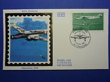LOT 12107E TIMBRES STAMP ENVELOPPE AVIATION ET ESPACE FRANCE ANNEE 1987