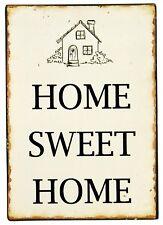 IB Laursen Metallschild - Home Sweet Home - Deko Schild Metall Blechschild