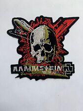 Rammstein Band Skull Reise Reise Iron On Patch TShirt Badge Heavy Metal