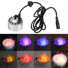 LED Air Atomizer Humidifier Ultrasonic Mist Maker Fogger Water Fountain
