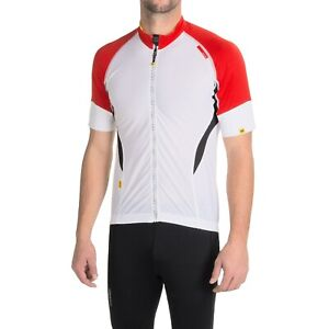 New Men`s Mavic HC Cycling Jersey Full Zip Short Sleeve SZ Small (Chest 36-37½)