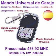 Mando Garaje Universal Copiador Clonador Duplicador Copión Garage 433.92