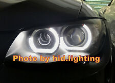 E92 E93 C Shape Crystal Angel Eye Halo Ring light F30 Style Headlight White LED