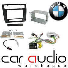 BMW 1 Series 2004 On Car Stereo D/Din Fascia & Steering Wheel Interface CTKBM08