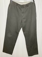 Columbia Size 36X34 Mens Gray Work Pant Cotton Casual Workwear