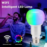 10W LED Smart Glühbirne Licht E27 RGB+CW Birne WiFi Lampe Für Alexa Google Home
