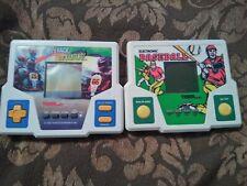 New ListingVintage 1980s Tiger Electronics Video Game Lot Dirt Track Go Karting & Baseball!