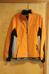 Swix Mens Oppdal Light Softshell Jacket. nordic ski jacket. SIZE LARGE
