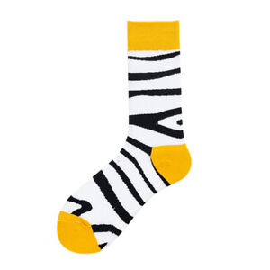 Men Women Creative Dress Socks Cotton 2 Pairs Funny Animal Fruit Fancy Novelty