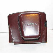 Used Genuine Leitz Leica Leather Camera Case Made in Germany Vintage S116010