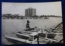 VENEZIA - JESOLO - SPIAGGIA HOTEL BEAU RIVAGE - 1962