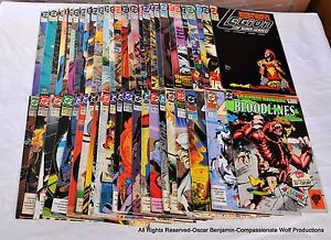 Legion of Super-Heroes & Lobo Lot!  76 Issues!  Wow!