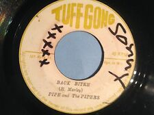 TUFF GONG. Original. arrière Mordant. Pipe & the pipers