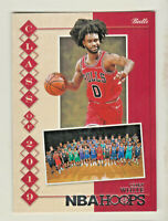 2019-20 Panini NBA Hoops CLASS OF 2019 #13 COBY WHITE RC Rookie Chicago Bulls
