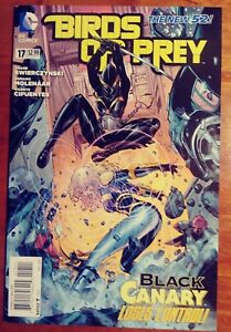 BIRDS OF PREY #17 FIRST PRINT DC COMICS (2013) BLACK CANARY
