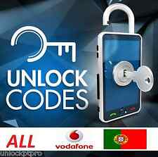 UNLOCK all VODAFONE PORTUGAL sony nokia lg huawei etc- ALL MODELS - NO IPHONE -