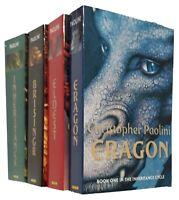 Inheritance Cycle 4 Books Christopher Paolini Eragon Eldest Brisingr Teen New