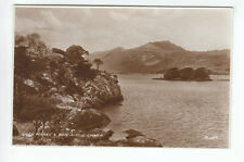 Loch Maree & Ben Airdh Charr Ross-shire 1934 Real Photograph Valentines A154