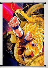 Dragon Ball Z(Super Sayain Goku)  WallScroll Poster, New