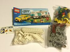 LEGO Creator City Town Car and Caravan Camper Set 4435 Instruction Included