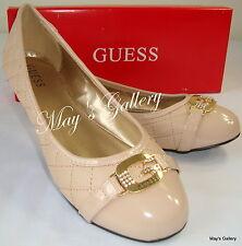 GUESS Jeans Shoes Flat Flats Heel Flip Flops Sandals Flop shoe Ballet NIB  9