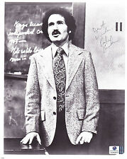 Gabe Kaplan Autographed/Signed 8x10 B&W Photo W/ Global COA*Comedian*Actor*Poker