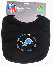 Detroit Lions NFL Baby Bib, One size fits most, New