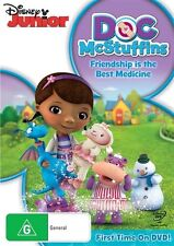 Doc McStuffins - Friendship Is The Best Medicine (DVD, 2013)