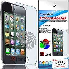 4 Pellicola Opaca Per Apple iPod TOUCH 4 4G Antiriflesso Antimpronta Pellicole