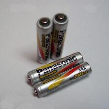 6pcs Panasonic AAA 1.2V 750mAh Ni-MH Rechargeable Batteries