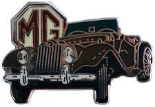 MG TF MGTF car cut out lapel pin - Brown