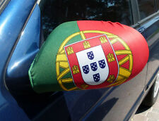 Mirror Flag Portugal Portugese Car Auto mirror flag covers set of 2.