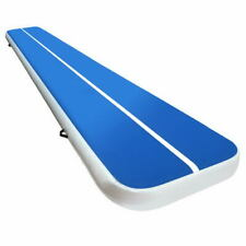 Everfit 5m x1m Inflatable Air Track Mat - Blue