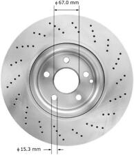 Premium Brake Rotor fits 2010-2012 Mercedes-Benz E550 E350  BENDIX