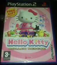 Hello Kitty Roller Rescue Sony PlayStation 2 European Version BRAND NEW AND SEAL